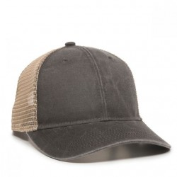 CASUAL COTTON TWILL MESH CAP