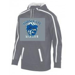 Wildcat Two Color Hooded...